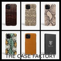 *THE CASEFACTORY* iPhone12 Pro アニマル柄レザーケース