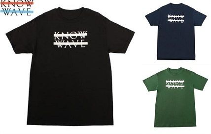 20SS LA発ストリート Know Wave  ☆TONAL WAVELENGTH T