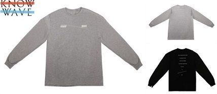 20SS LA発ストリート Know Wave  ☆CREATE THE SPACE L/S T