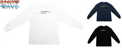 20SS LA発ストリート Know Wave  ☆CLASSIC SPREAD L/S T
