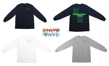 20SS LA発ストリート Know Wave  ☆KNOWLEDGE WAVE L / ST