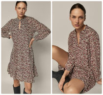 Massimo Dutti【NEW】Dress with printed flowers