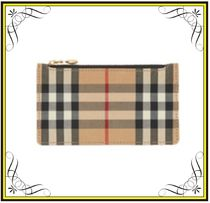 【BURBERRY】Vintage Check Card Holder フラグメントケース