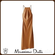 MassimoDutti♪CAMISOLE DRESS FEATURING AN ASYMMETRIC HEM