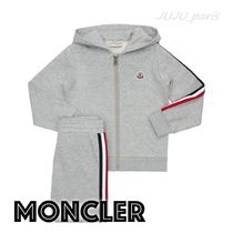 MONCLER(モンクレール) キッズ用トップス 大人OK★Moncler★2021SS★ロゴ入スウェット上下セット★12/14A