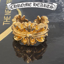 Chrome Hearts クロムハーツ 22k Gold Floral Ring リング 指輪