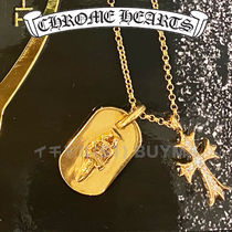 Chrome Hearts クロムハーツ 22K Gold Dagger Tag Necklace