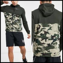 Nike Training Dri-FIT camo full-zip hoodie
