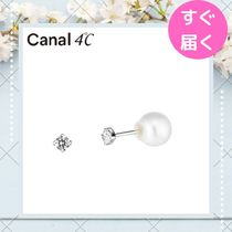【canal4℃】ピアス 淡水パールキャッチ