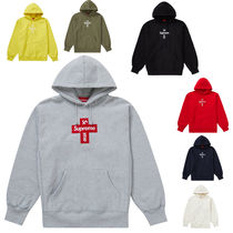 【Supreme】Cross Box Logo Hooded Sweatshirt 20AW/FW