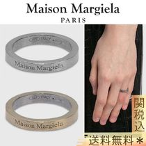 【MAISON MARGIELA】LOGO SLIM RING