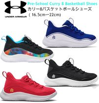 UNDER ARMOUR (アンダーアーマー ) キッズスニーカー 【NY発★新作】UNDER ARMOUR キッズ Curry 8 Basketball Shoes