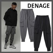 日本未入荷!【DENAGE】Signature Cargo Jogger Pants/2色
