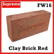 Supreme Clay Brick Red  Red FW 16 2016