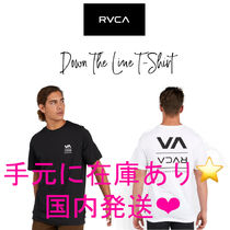 国内発送!【RVCA】DOWN THE LINE SHORT SLEEVE T-SHIRT Tシャツ