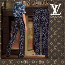 21CR 直営買付 Louis Vuitton フロックシーズナルスリムジーンズ