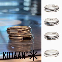 KUJAAN(クジャーン) 指輪・リング [KUJAAN] Screw Ring 3種 シルバーリング★BTS RM着用★人気
