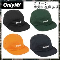 ONLY NY(オンリーニューヨーク) キャップ 国内配送※送料・関税込み★OnlyNY★ロゴ-パネルハット