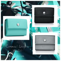 Tiffany & Co. Compact Leather Wallet