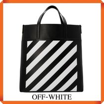 Off-white 'Diag' shopping bag