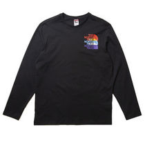 THE NORTH FACE カットソー 長袖Tシャツ nf0a4synjk3BK【人気】