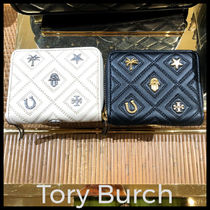 Outlet買付【Tory Burch】Fleming Charm Medium Wallet 61493