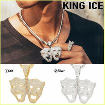 King Ice(キングアイス) ネックレス・チョーカー 送料税込【2PAC X KING ICE】SMILE NOW CRYLATERネックレス☆2色