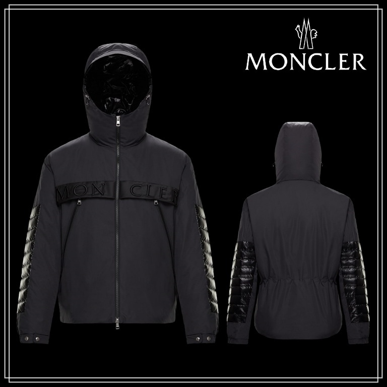 MONCLER★PREVIEW SS21★OLARGUES★ポリエステル/ナイロン★ (MONCLER/ダウンジャケット) 0911B50A0054A91999