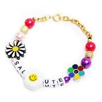 ◆SALUTE◆FLOWER ANARCHY COLOR BEEDS CHARMS LETTERING