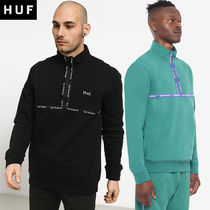 [HUF] MIDTOWN 1/2 ZIP FLEECE [公式]