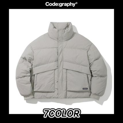 [CODEGRAPHY] UTILITY DUCK DOWN SHORT PUFFA 7COLOR ペディン