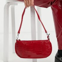 My Accessories London Exclusive 90s shoulder bag in red