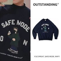 【OUTSTANDING】V.S.C Sweat_Safe Mode ★StrayKids 着用★