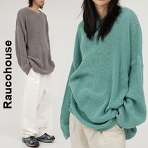 Raucohouse(ラウコハウス)★Mild Leglan Over-Fit Knit