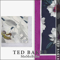 TED BAKER(テッドベーカー) ハンカチ 【国内発送・関税込】TED BAKER 花柄シルクポケットスクエア