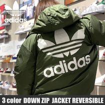 国内発送/adidas Originals★LW DOWN ZIP THROUGH PUFFER JACKET