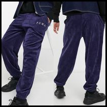 Puma Cord joggers in navy exclusive to ASOS