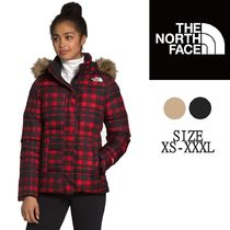 The North Face ファー付き ロゴ ダウン 3カラー 2012NF64
