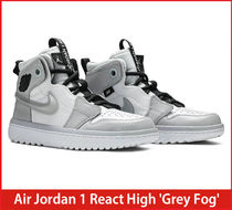【希少/送料・関税込み】Air Jordan 1 React High 'Grey Fog'