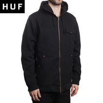[HUF] CONSTRUCTION ZIP HOOD ジャケット [大人気!]
