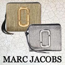 ★SALE☆【MARC JACOBS】ロゴミニコンパクト財布