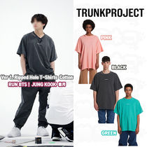 ★Trunk Project★BTS JUNGKOOK 着用 Ver1 Ripped Hole T Shirts