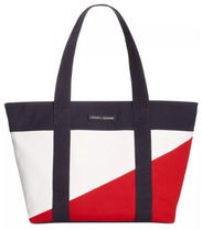 Tommy Hilfiger Canvas TH Flag Tote THフラッグ トートバック