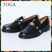 すぐ届く!TOGA☆トーガ TOGA VIRILIS SHOE  METAL LOAFER