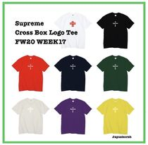 20 FW Supreme Cross Box Logo Tee Week 17