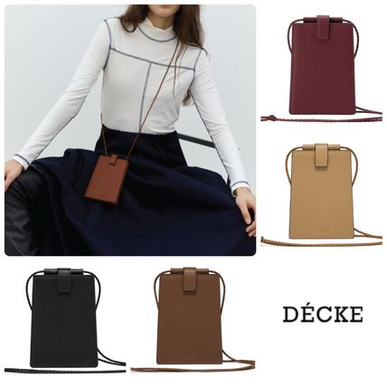 DECKE ★Accordion neck wallet 4色*関税送料込