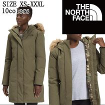 The North Face ロゴ ファー ロング ダウン パーカー 2012NF76