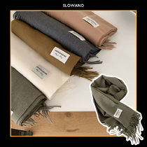 [SLOWAND] OUR SOFT MUFFLER 6COLOR 送料無料 関税込み マフラー