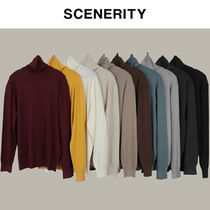★20-21FW新作★SCENERITY★STANDARD TURTLENECK KNIT_10色