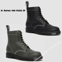 Dr Martens★1460 PASCAL ZIPPED STREETER★ジッパー★兼用★2色